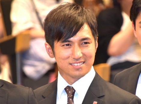 TBS『日曜劇場 ノーサイド・ゲーム』制作発表イベントに出席した高橋光臣 (C)ORICON NewS inc.
