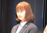 TBS『日曜劇場 ノーサイド・ゲーム』制作発表イベントに出席した笹本玲奈 (C)ORICON NewS inc.
