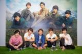 『ARASHI EXHIBITION JOURNEY 嵐を旅する展覧会』の会場でメンバーが撮影した記念ショット