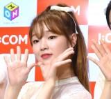 『M-ON!×OH MY GIRL』スペシャルイベントに出席したスンヒ (C)ORICON NewS inc.