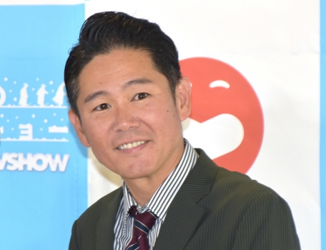 『SLAVA'S SNOW SHOW』日本公演開催のスペシャルサポーター追加発表会見に参加したガレッジセール・川田広樹 (C)ORICON NewS inc.