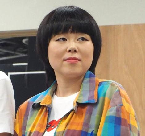女優として初舞台に挑戦するブルゾンちえみ=舞台『フローズン・ビーチ』の記者会見 (C)ORICON NewS inc.