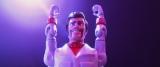 ディズニー/ピクサー映画『トイ・ストーリー4』おもちゃの新キャラクター、デューク・カブーン。キアヌ・リーブスがノリノリで演じている(C)2019 Disney/Pixar. All Rights Reserved.