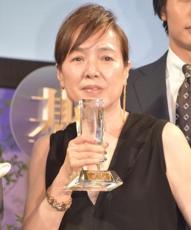 日本のテレビ界に期待していることを語った桃井かおり =『第45回放送文化基金賞』贈呈式(C)ORICON NewS inc.