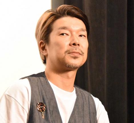 映画『こはく』の完成披露上映会に出席した横尾初喜監督 (C)ORICON NewS inc.