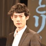 舞台『続・雷神とリーマン』の制作発表記者会見に出席した井上雄太 (C)ORICON NewS inc.