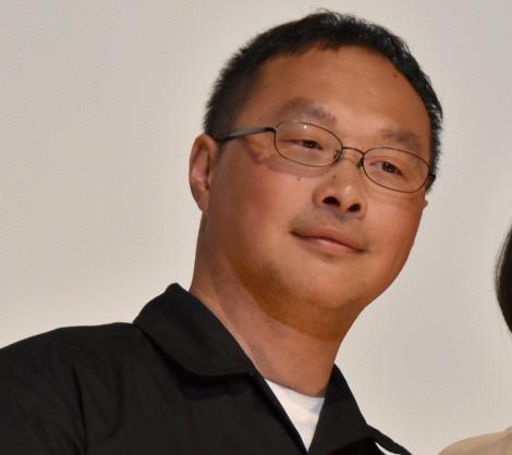映画『よこがお』完成披露上映会に登壇した深田晃司監督 (C)ORICON NewS inc.