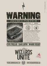 スマートフォン向け最新AR位置情報ゲームアプリ『ハリー・ポッター:魔法同盟』機密保持法特別部隊のポスター