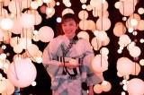 13代目『カルピスウォーター』新CMキャラクターの永野芽郁(C)カルピス? 100th七夕に会おう展 プレス内覧会