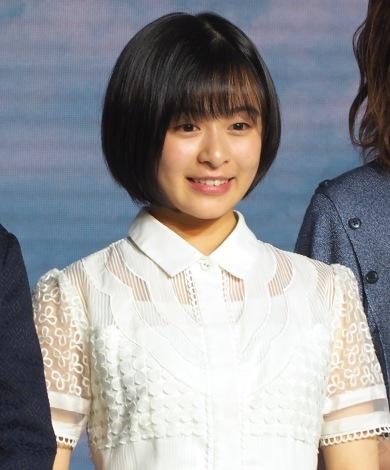映画『天気の子』の製作報告会見に出席した森七菜 (C)ORICON NewS inc.