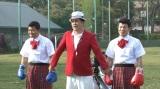 亀田興毅&大毅、ミニスカで競技