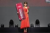 『コカ・コーラ エナジー』発売記念イベントに出席したAAA・宇野実彩子