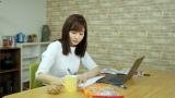 YouTubeチャンネル、Facebookページでオープンした『日テレアカデミア』内コンテンツ『Study with meやってみた』に挑戦した岩田絵里奈アナウンサー(C)日本テレビ