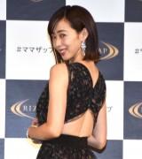 RIZAPの新CM発表会に出席した井上和香 (C)ORICON NewS inc.