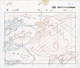 「春の巴川の一日」の巻(原画 1999年)=アニメ化30周年記念企画『ちびまる子ちゃん展』8月8日から松屋銀座で開催(C)さくらプロダクション/日本アニメーション