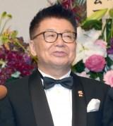 所属タレントである優木まおみへの感謝を語った生島ヒロシ(C)ORICON NewS inc.