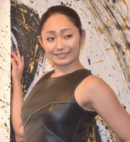 『EN-PA(エンパ)』お披露目会に出席した安藤美姫 (C)ORICON NewS inc.