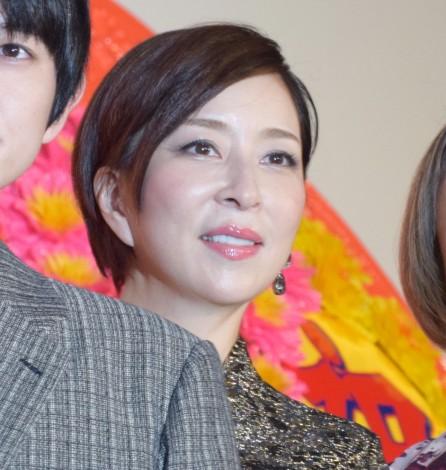 映画『Diner ダイナー』の初日舞台あいさつに出席した真矢ミキ (C)ORICON NewS inc.