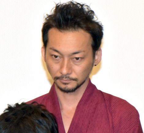 映画『GOZEN-純恋の剣-』の公開記念舞台あいさつに登壇した波岡一喜 (C)ORICON NewS inc.