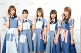 『THE MUSIC DAY 2019 〜時代〜』の『裏配信☆大魔王の部屋』に出演した日向坂46(C)日本テレビ