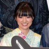 映画『GOZEN-純恋の剣-』の公開記念舞台あいさつに登壇した優希美青 (C)ORICON NewS inc.