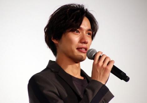 成島出監督からのねぎらいの言葉に感極まる福士蒼汰(C)ORICON NewS inc.