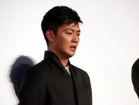 成島出監督からのねぎらいの言葉に感極まる工藤阿須加(C)ORICON NewS inc.