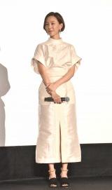 映画『ゴジラ キング・オブ・モンスターズ』の初日舞台あいさつに登壇した木村佳乃 (C)ORICON NewS inc.