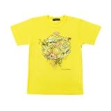 嵐・大野智デザインの『24時間テレビ42』チャリTシャツ 黄色(C)日本テレビ