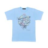 嵐・大野智デザインの『24時間テレビ42』チャリTシャツ 水色(C)日本テレビ