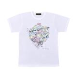 嵐・大野智デザインの『24時間テレビ42』チャリTシャツ 白(C)日本テレビ