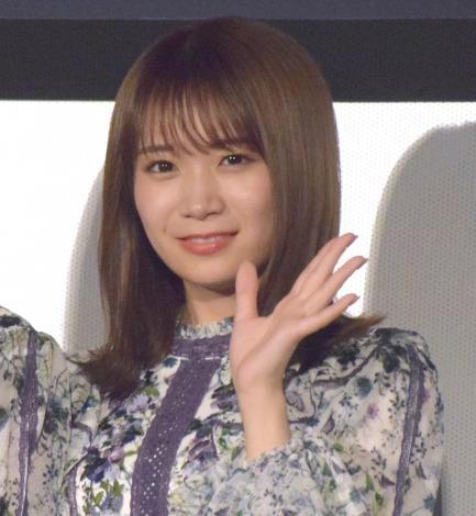 映画『いつのまにか、ここにいる Documentary of 乃木坂46』の初日舞台あいさつに出席した秋元真夏 (C)ORICON NewS inc.