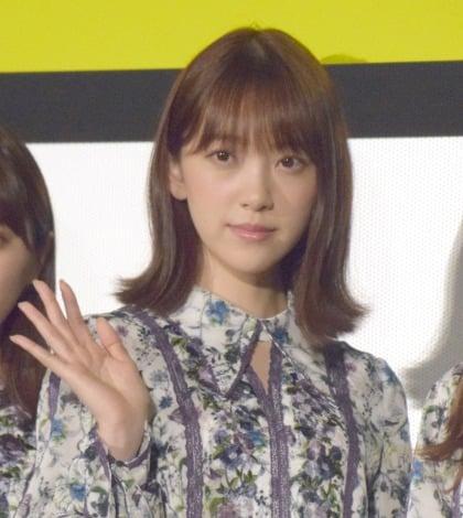 映画『いつのまにか、ここにいる Documentary of 乃木坂46』の初日舞台あいさつに出席した堀未央奈 (C)ORICON NewS inc.