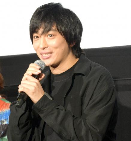 映画『いちごの唄』の公開記念舞台あいさつに出席した古舘佑太郎 (C)ORICON NewS inc.