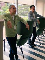 トークライブ『三代澤・山田の背水の陣〜TITAN(タイタン)への道〜』を開催する(左から)三代澤康司アナ、山田雅人