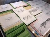 『かぐや姫の物語』(C)2013 畑事務所・Studio Ghibli・NDHDMTK=東京国立近代美術館で開催中の『高畑勲展─日本のアニメーションに遺したもの』 (C)ORICON NewS inc.