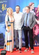 ミュージカル『王様と私』の取材会に出席した(左から)ケニー・オハラ、渡辺謙、バートレット・シャー氏 (C)ORICON NewS inc.