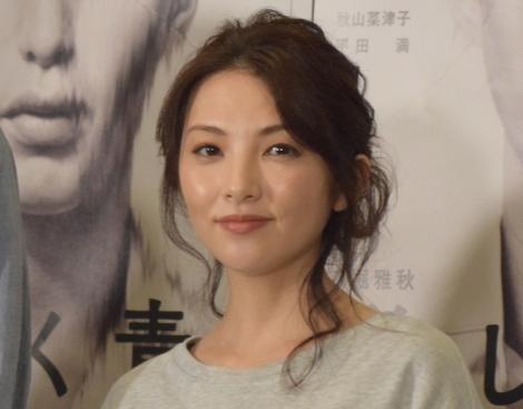 舞台『美しく青く』の公開ゲネプロに参加した田中麗奈 (C)ORICON NewS inc.