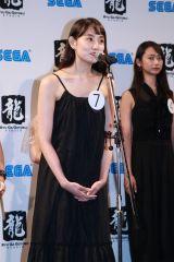『龍が如く 最新作』助演女優オーディショングランプリ・鎌滝えりさん(C)Deview