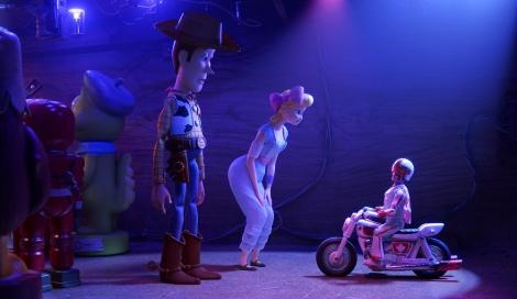 ディズニー/ピクサー映画『トイ・ストーリー4』(7月12日公開)新しいおもちゃ、デューク・カブーン。オリジナル版ではキアヌ・リーブス、日本版では森川智之が担当(C)2019 Disney/Pixar. All Rights Reserved.