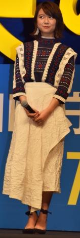 『未来のミライ』のジャパンプレミアに出席した上白石萌歌 (C)ORICON NewS inc.