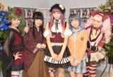 (左から)三田麻央、佐々木舞香、舞川みやこ、永野愛理、片岡沙耶 (C)ORICON NewS inc.