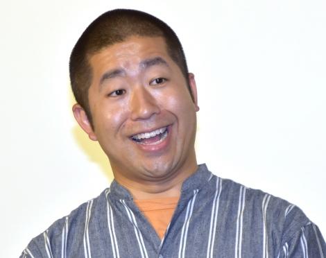 NHKと蜜月関係ににんまりとしたハライチ・澤部佑=NHK総合ドラマ『だから私は推しました』完成試写会 (C)ORICON NewS inc.