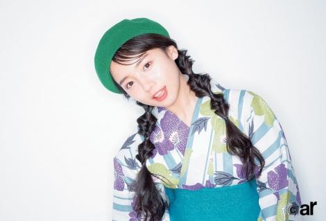 サムネイル 『ar』8月号に登場した日向坂46・齊藤京子