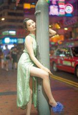 初写真集を香港で撮影した大石絵理