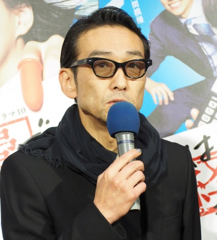 NHK総合ドラマ10『これは経費で落ちません!』の試写会に出席した吹越満 (C)ORICON NewS inc.
