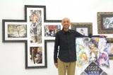 『画業30周年記念 小畑健展 NEVER COMPLETE』展示会に出席した小畑健氏 (C)ORICON NewS inc.