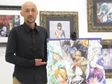 『画業30周年記念 小畑健展 NEVER COMPLETE』展示会に出席した小畑健氏(C)ORICON NewS inc.