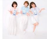 『SAILORS SHOULDER BAG BOOK』に登場した元おニャン子クラブ(左から)白石麻子、内海和子、立見里歌