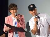 (左から)レイモンド・ジョンソン、山寺宏一 (C)ORICON NewS inc.